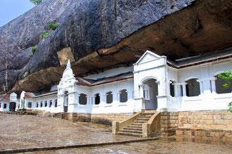 Höhlentempel in Dambulla, Sri Lanka