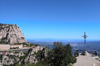 One day trip outside of Barcelona to Montserrat.