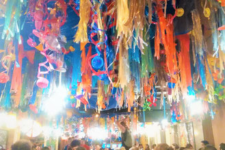 Events and travel recommendations for Barcelona. Fiestas de Gracia.