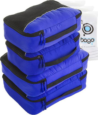 Packing Cubes 4pcs Value Set for Travel