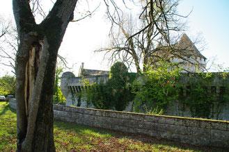Le Château de Pressac à Daignac