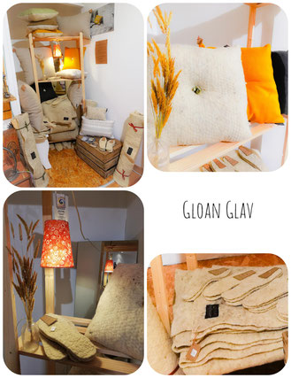 gloan glav artisan créateur literie laine bretonne