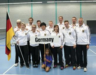 Team Germany und Matthias mittendrin