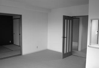 リビング・和室 Before マスタードリフォーム