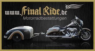Motorradbestattungen von Final Ride