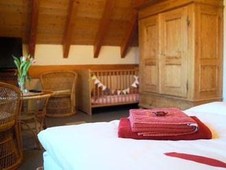 Kleine süße Überraschungen in den Zimmern für unser Feriengäste in der Rhön