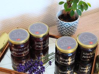 Rhöner Marmelade als Gastgeschenk für unsere Feriengäste