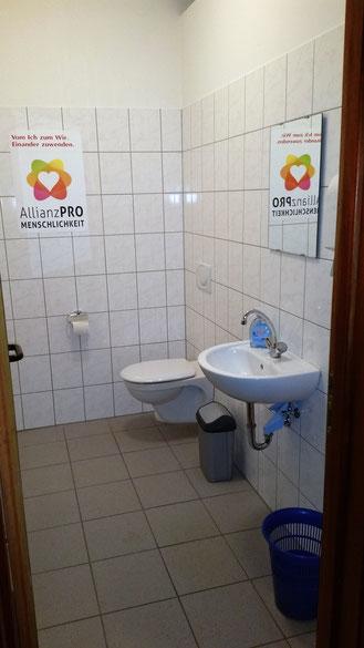 Die Herrentoilette - barreierefrei