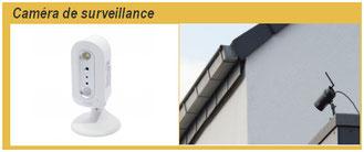 Caméra de videosurveillance intérieur et extérieure, C-automatique