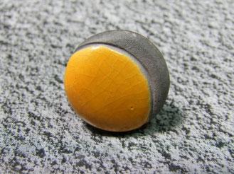 bague ceramique jaune a vendre
