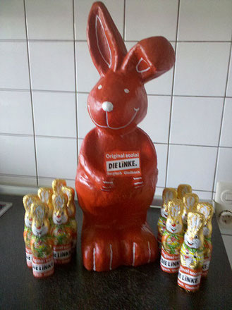 Roter Osterhase