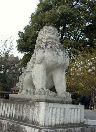 武田神社 狛犬