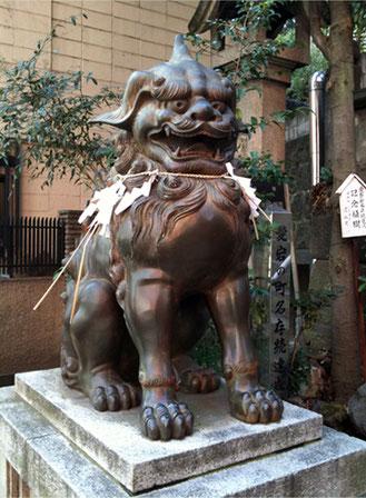 愛宕神社 狛犬