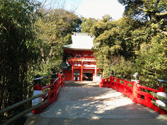 氷川神社 神橋
