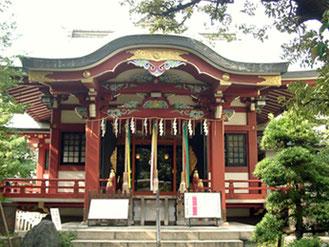 青山熊野神社 社殿