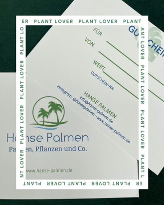 Hanse Palmen Gutscheine - www.hanse-palmen.de