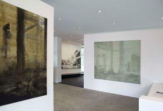 Wasteland 2014 Tempera auf Segeltuch 160 x 170 cm