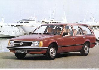 Opel Commodore C Voyage Berlina