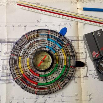 patentierter Feng Shui Kompass