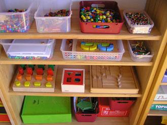 Ordnung, Raumgestaltung, Kindergarten, Material, Beschäftigung