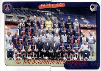 N° 282 et 283 - Equipe PSG