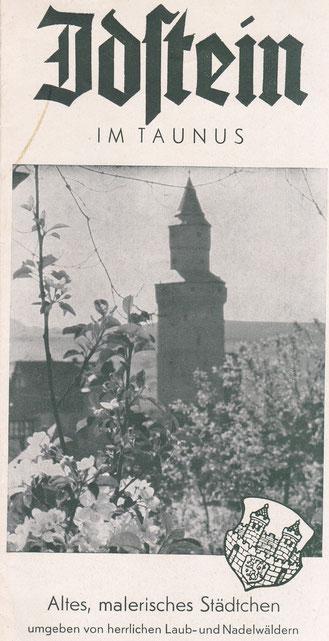 Idstein-Prospekt aus den 50er Jahren