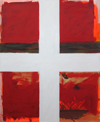 Günter Wintgens Fenster Flagge Dänemark