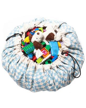 2in1 Spielmatte und Aufbewahrung - perfekt für Legosteine