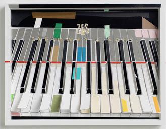 MARION EICHMANN, FARBKLANG, 2018, Pigmenttusche, Papier, 32 x 42 cm, € 1.500,--
