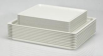 Serviertablett lichtgrau 9902993, FMU GmbH, Serviertabletts