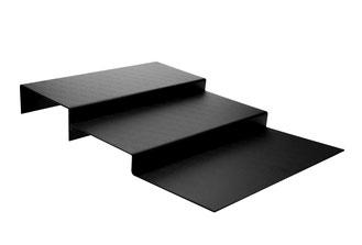 Thekentreppe schwarz 9903069, FMU GmbH, Tabletts schwarz