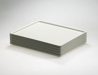 Serviertablett lichtgrau 9902994, FMU GmbH, Serviertabletts