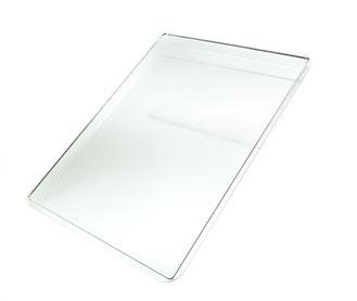 Tablettsatz für Donut Display transparent 8, FMU GmbH, Tabletts transparent