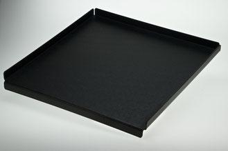 Auslegetablett schwarz individual-Viereck 9903025, FMU GmbH, Tabletts schwarz