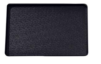 Auslegetablett schwarz ohne Rand 9903021, FMU GmbH, Tabletts schwarz