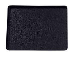 Auslegetablett schwarz ohne Rand 9903022, FMU GmbH, Tabletts schwarz