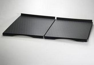 Auslegetablett schwarz 9903041, FMU GmbH, Tabletts schwarz