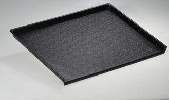 Auslegetablett schwarz 9903033 und 9903077, FMU GmbH, Tabletts schwarz