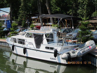 Hausboot TOP KRUISER 900| 4+2 KOJEN |1 Schlafkabine | ohne Führerschein