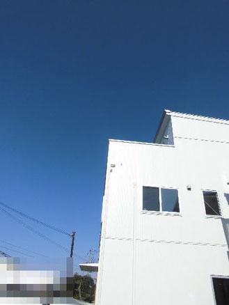 兵庫県姫路市の3階建てデザイナーズ住宅外観