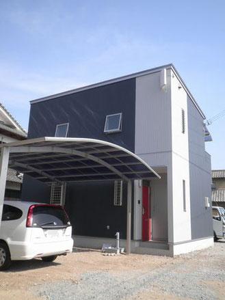 兵庫県福崎町のローコスト住宅外観