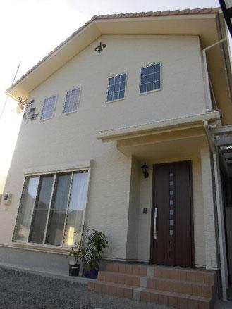 兵庫県宍粟市のローコスト住宅外観