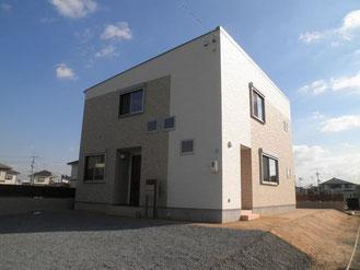 岡山県倉敷市のデザイナーズ住宅外観