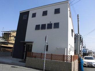兵庫県姫路市のローコスト住宅外観