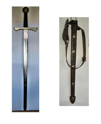mein Schwert und das Schwertgehänge