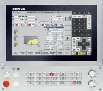 Heidenhain MANUALPlus 620  Die vielseitige Bahnsteuerung für Drehmaschinen