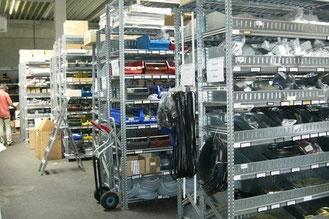 Ersatzteilelager mit über 2 Milionen Ersatzteile - wir liefern österreichweit