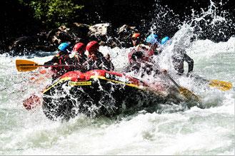 Rafting Tirol Imster Schlucht Ötztal