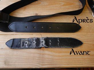 Réparation de ceintures