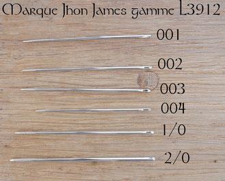 Comparaison des aiguilles L3912 pour la couture du cuir